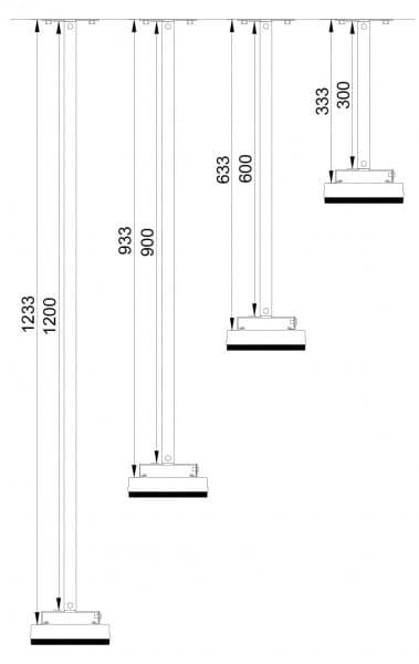 Rallonge pour Heatstrip Design